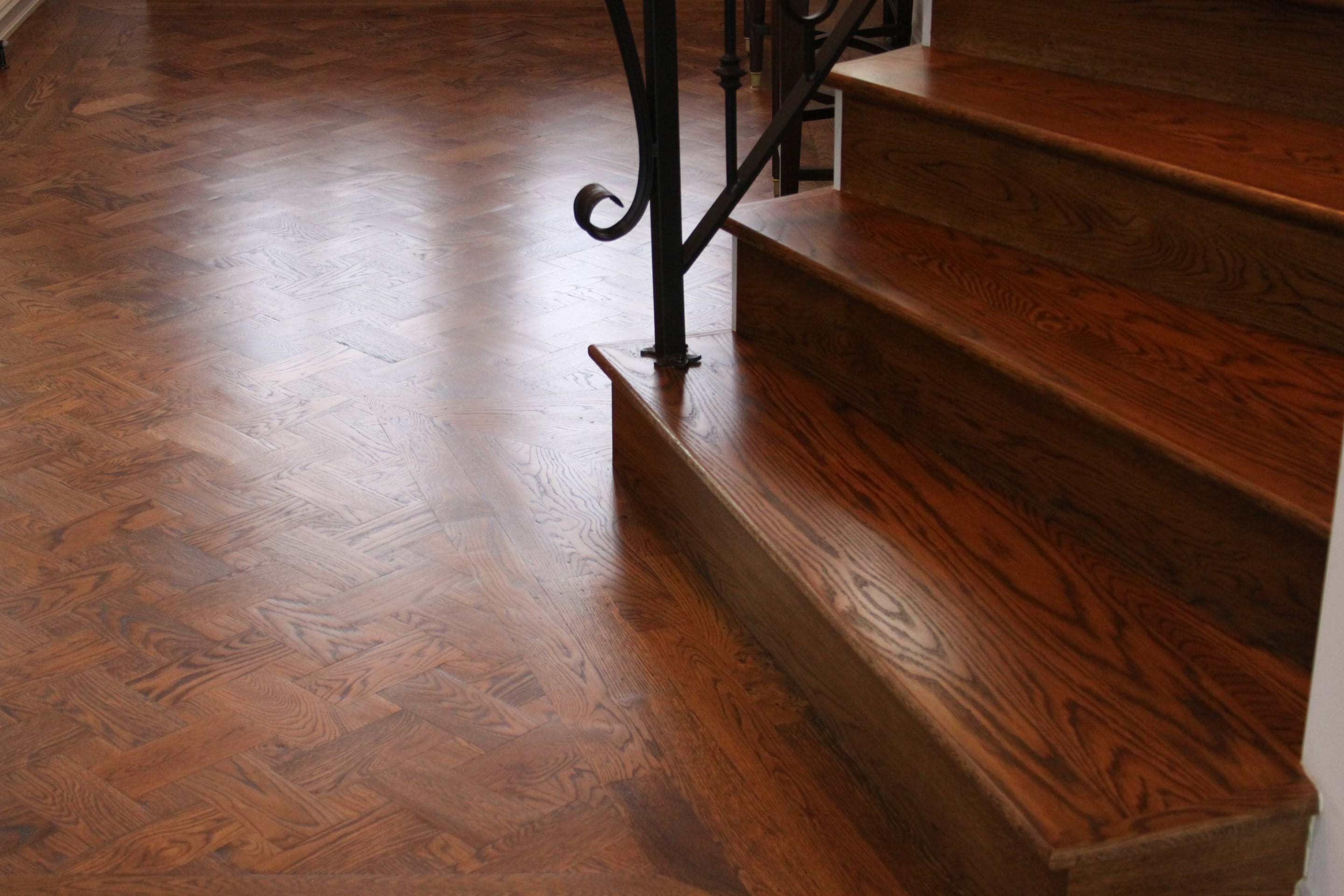 Brücke Flooring in Tulsa, Oklahoma - construction - hardwood - water damage - engineered floors